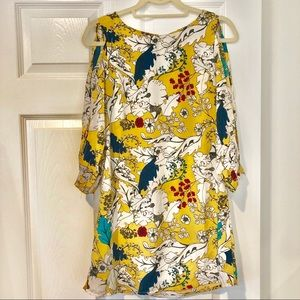 Dresses & Skirts - Yellow Flower Mini Dress